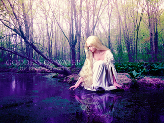 Goddess Of Water by chaneldreams