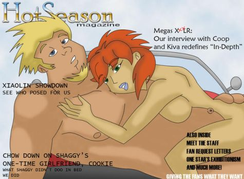 Hot Season January Cover by Negronomicon