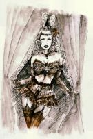 Burlesque Queen... by BlueMillenium