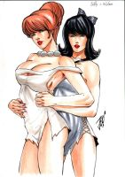 Wilma e Betty by josileudo