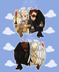 Good Omens: CHARM FOR SALE! (LINK IN DESCR) by Smudgeandfrank