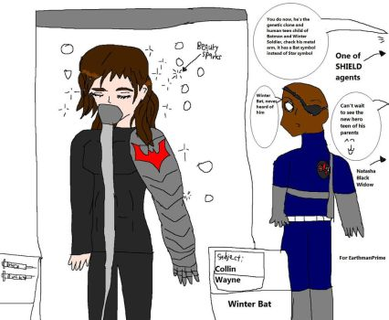 Batman x Winter Soldier project cloning by Dinzydragon