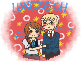 [HETALIA] LuxCzech (see description!) by melondramatics
