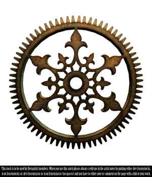 RESTRICTED - Steampunk Cog Render by frozenstocks