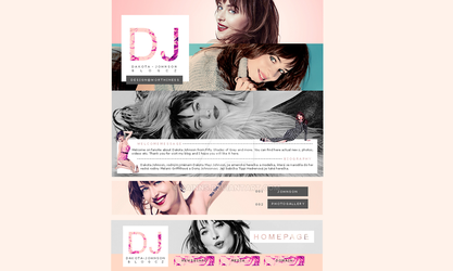 Dakota Johnson Design by Dainns