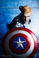 Captain America by chibi-lilie
