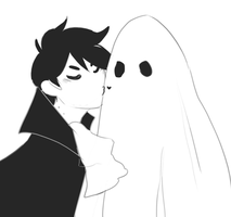 halloween doodle by R0BUTT