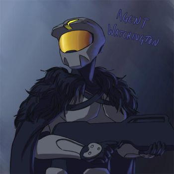 RvB - Agent Watchington by ajremix