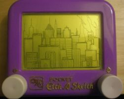 Etch-A-City by Ash243x