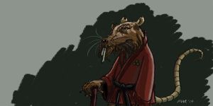 Master Splinter by gaudog