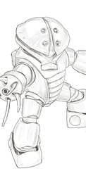 Daily sketch: Acguy by randychen