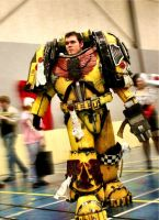 Imperial Fist Cosplay by Dezelith