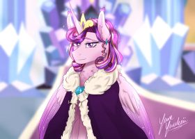 Our Princess and Guardian - My Cadence Redesign by YumeYuuheii