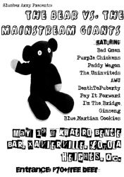 death to puberty gig by m35b