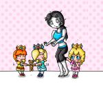 nanny wii fit trainer by ninpeachlover