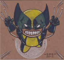 Wolverine marker piece by MARR-PHEOS