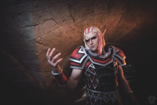 Krasus cosplay - World of Warcraft by Aoki-Lifestream