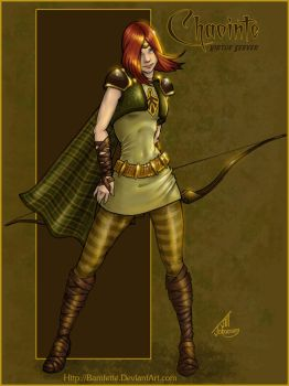Chaointe - City of Heroes by JillJohansen