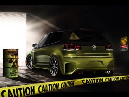 Volkswagen-Golf_GTI by Bedeloff