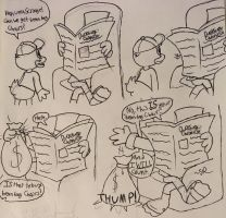 DuckTales Comic: Rich Man's Bean Bag by JudgeChaos