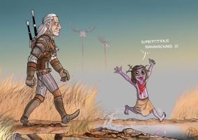 The Witcher 3 by silentLlama