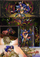 Yu-Gi-Oh Valkyrie vs. Reptile Creature Page 2 by zetaxinn