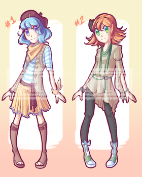 Adoptable Auction #2 [OPEN] by Honnojis