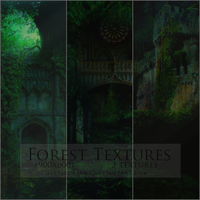 FOREST TEXTURES by LittleDr3ams