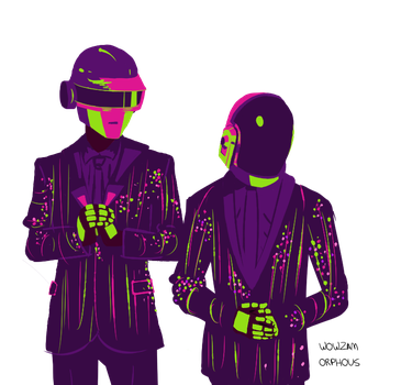 Daft Punk by LilMis