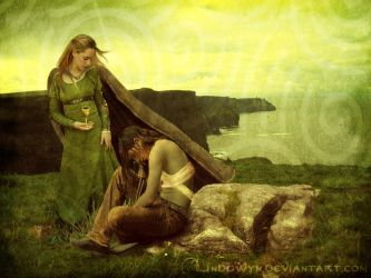Tristan and Iseult by Lindowyn