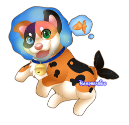 Bubble Buds: Nekovember DTA Pillowing: Entry 2 by Raspbearies