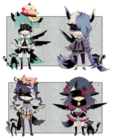 [CLOSED] ADOPT AUCTION 107 - Blind Lace by Piffi-sisters
