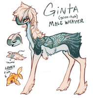 Ginta Ref Sheet [OUTDATED DESIGN] by InkxInk