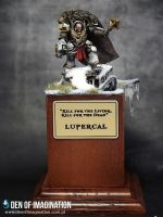 Horus Lupercal The Lunar Wolf by Brovatar