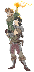SP Skyrim AU: Sizes by jovishark