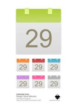 Calendar Icon by monsteer