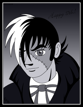 Dr. Black and White Jack by fab-wpg