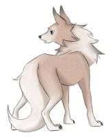 Lycanroc by CorvusAstrum