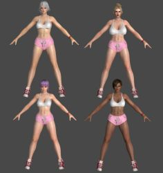 DoA5LR - Sporty Hotpants Ver. 1 - Pack #2 for XPS! by DoraiBoonzu