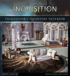 DAI Props - Inquisitor's Quarters Interior XPS DL by raccooncitizen