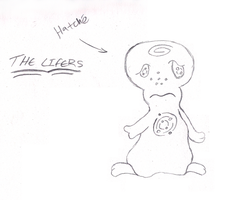 The Lifers - Hatche Original Concept Sketch by Tinker-Jet