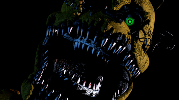 And another Nightmare Spring Bonnie Screen by Mixlas2