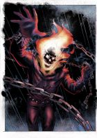 Ghost Rider by John Lucas by SariSariola