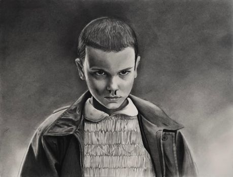 Eleven ~ Stranger Things by cfischer83