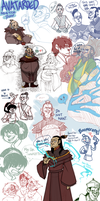 AVATARDED SKETCH DUMP by AgentDax