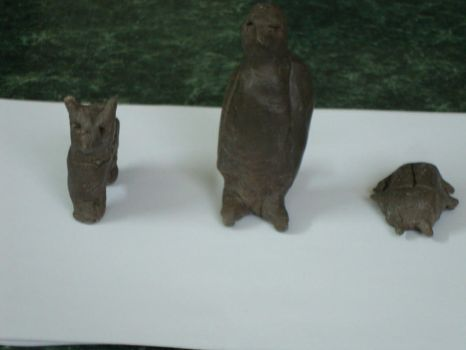 My Clay models by MHuang51491
