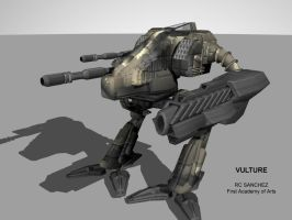 Vulture Mech by sevenmelons83