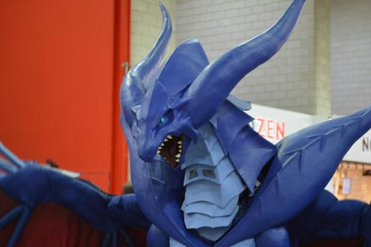 MCM Comic Con 2016 - FF8 Bahamut Cosplay 3 by GIGAN05