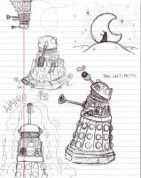 Dalek Derp sketches by rat-patooty
