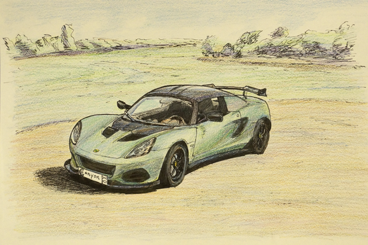 Lotus Elise Cup 205 by CCCanyon